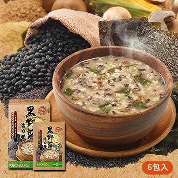 ★E★[海苔口味] 黑野菜活力餐 (6包)